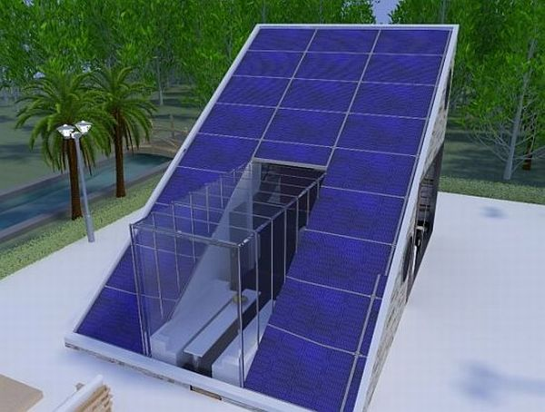 Solar House Concept from Raif Kurt