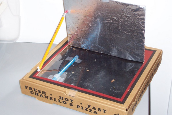 how to make solar cooker model for kids