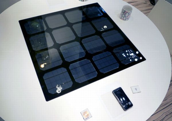 Solar Power Table