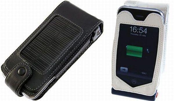 solar powered case