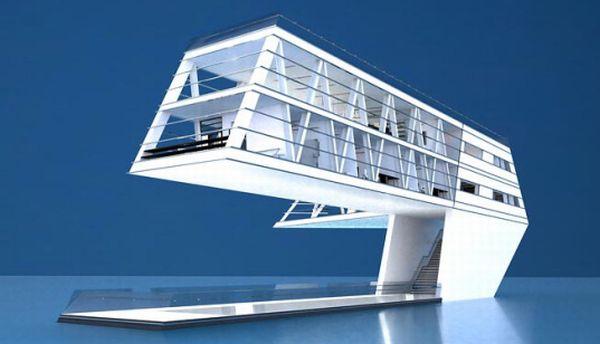 Solar powered floating House