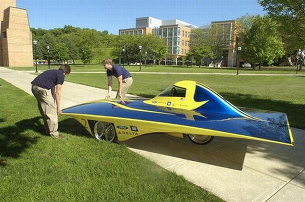 Solar powered vehicles