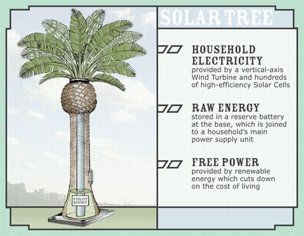 Solar Tree by Matthew Seibert