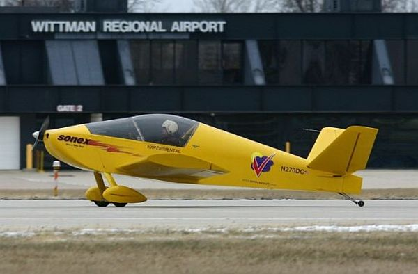 Sonex DIY electric aircraft