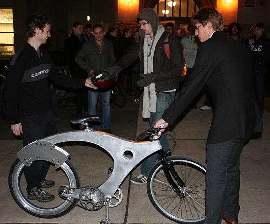 spokeless human powered bike 4