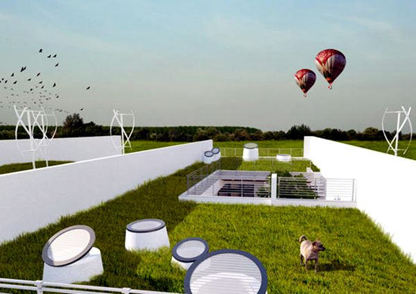 Seven Green Homes Featuring Green Roofs Green Diary