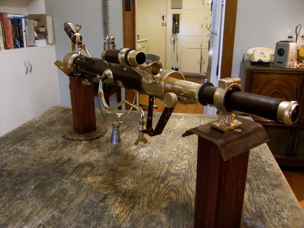 Steampunk Sub-Machine Gun