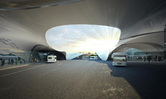 stoke on trent bus station to employ green tech fo
