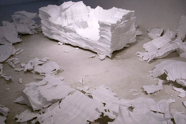 Styrofoam Sofa