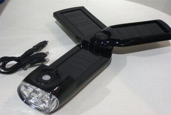Sungen foldable solar-powered gadget charger