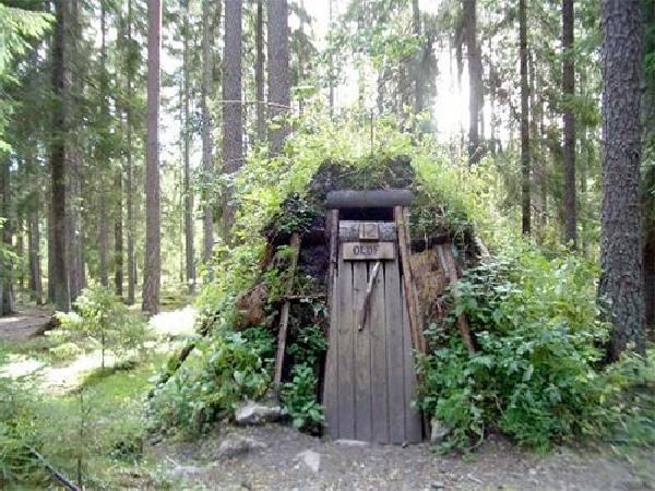Sweden primitive hotel