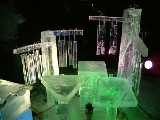 terje sungsets ice musical instruments 3