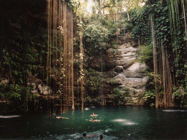 The Ik-Kil Cenote