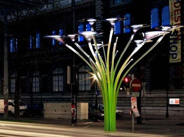 The Solar tree by Ross Lovegrove