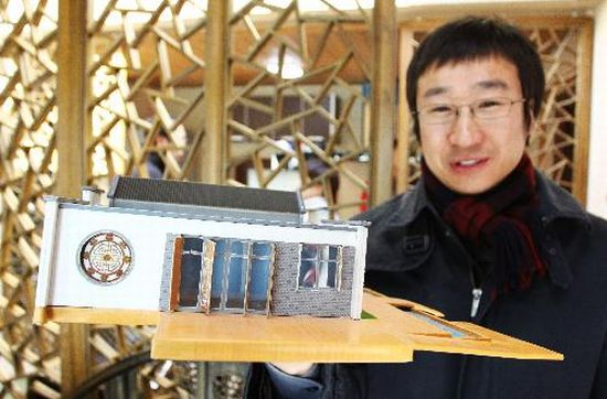tianjin zero energy house for solar decathlon 4
