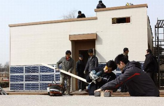 tianjin zero energy house for solar decathlon 5