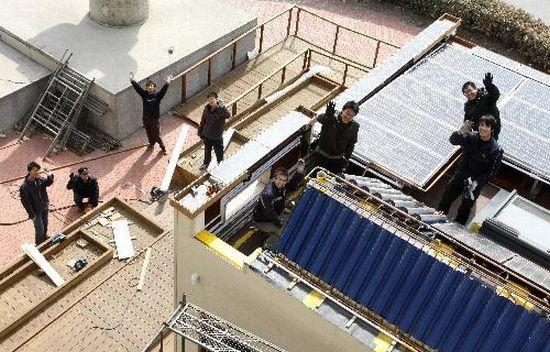 tianjin zero energy house for solar decathlon 6