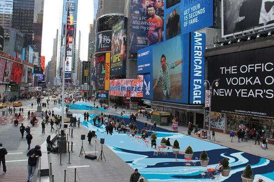 times square reconstruction dilworth 1