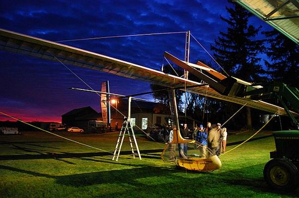 Toronto's human-powered aircraft