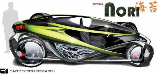 toyota nori concept electric car 2