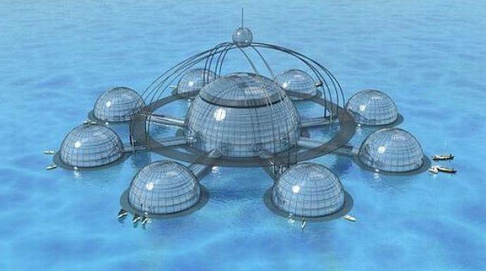 Underwater habitat