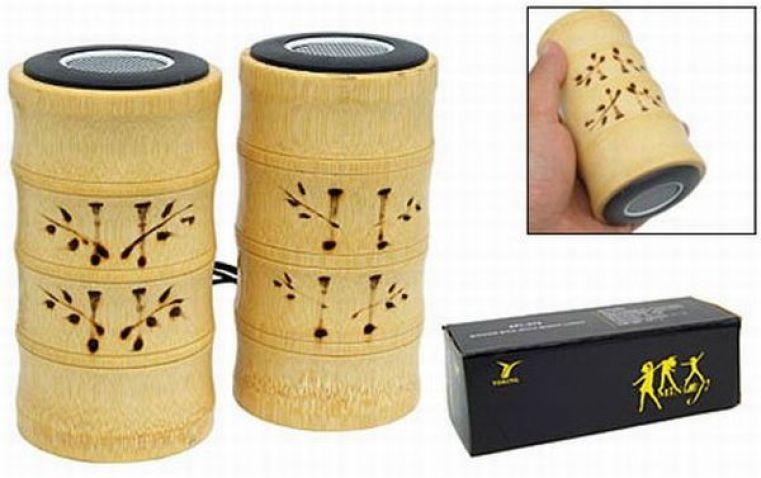 USB Bamboo Speaker