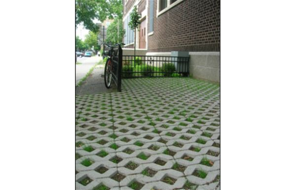 Use permeable ground cover