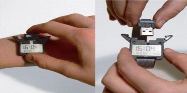 Watch With USB Port