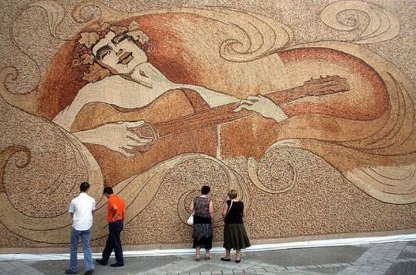 10 Stunning Works Of Art Using Recycled Products