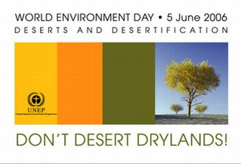 world environment day 2006 logo