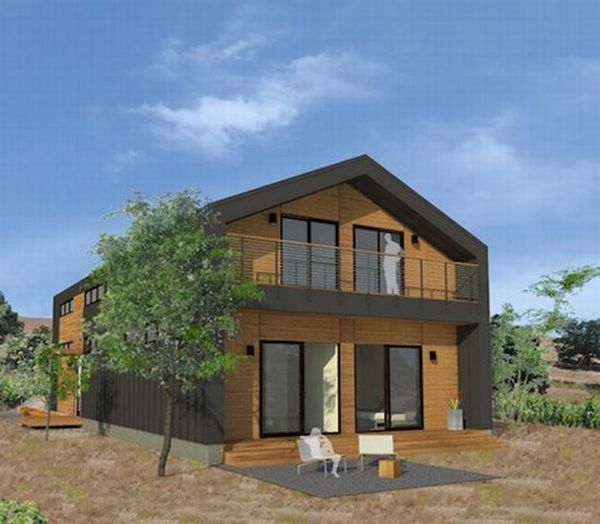 Zero energy prefab home series