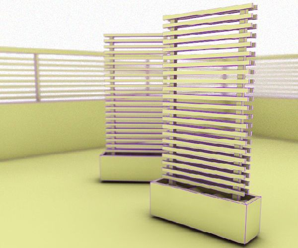 Mobile Green Fence Concept