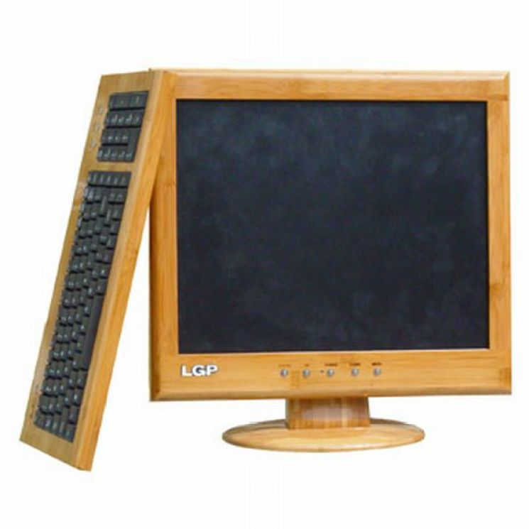 17_Inch_LCD_Monitor_with_Bamboo_Mold