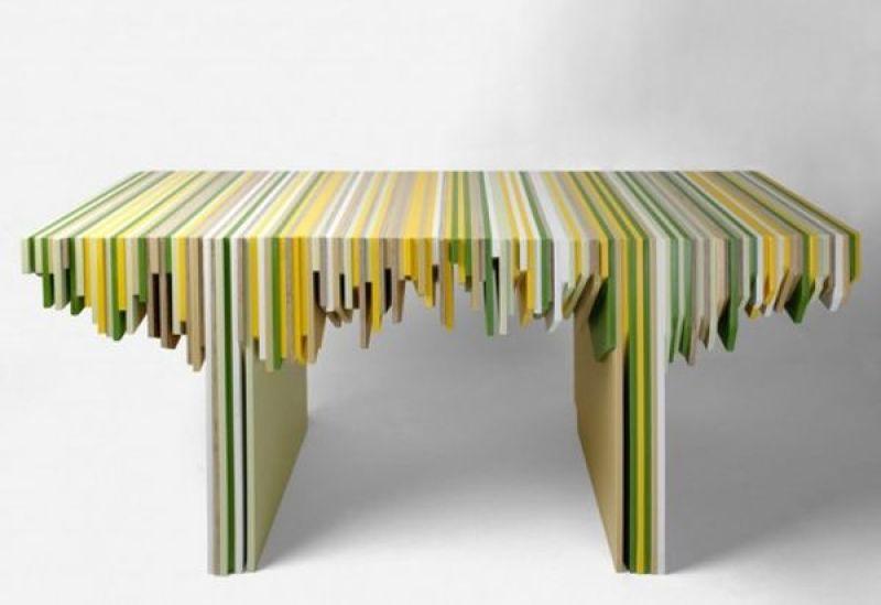 Corian Waste Rabih Hage furniture