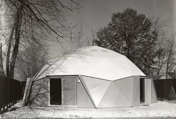 Domed and organic by Bucky Fuller