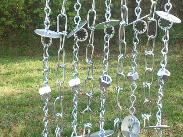 Industrial wind chime