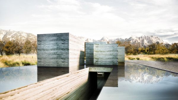 Rammed Earth concept houses