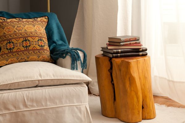 tree stumps Side tables