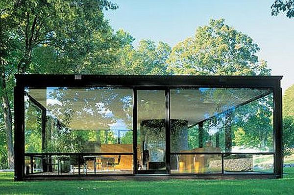 Glass House in USA