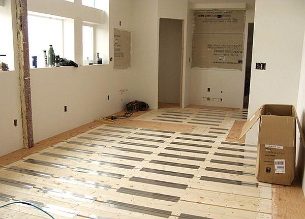 Radiant floor system