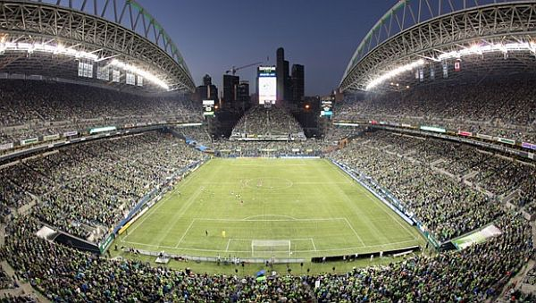 energy efficient Century Link field in Seattle