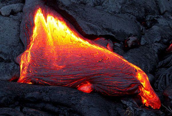 volcanic magma