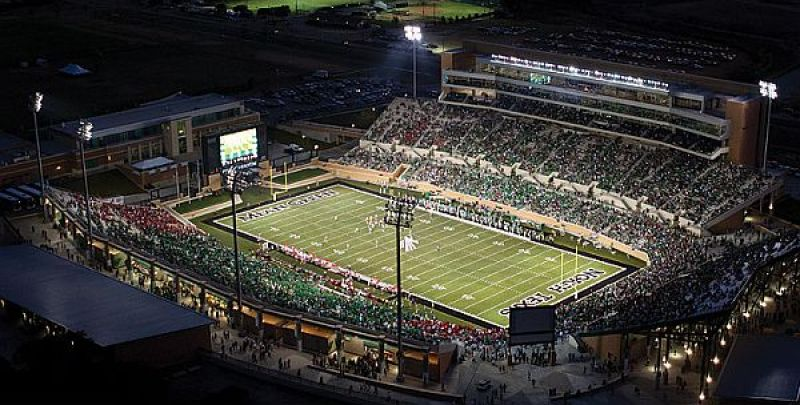 Apogee Stadium is located in the Denton