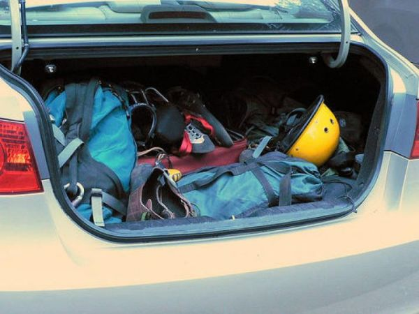 Remove all the unnecessary stuff from your car
