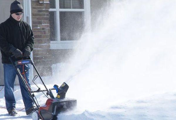 eco-friendly snow blower