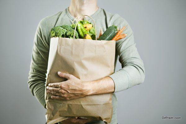 Choose paper bags