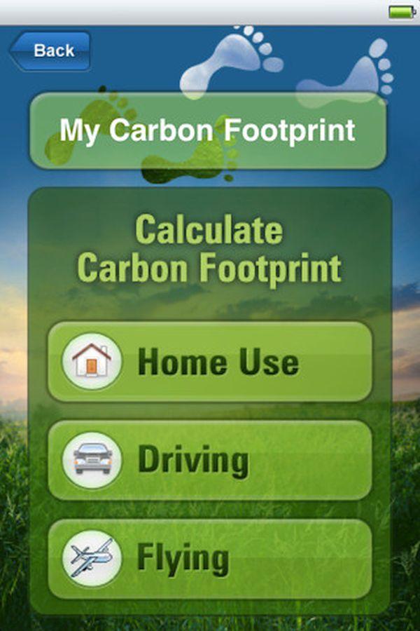 Carbon footprint calculator