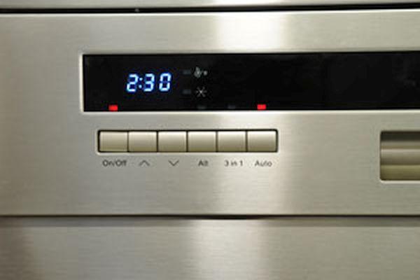 dishwasher programming
