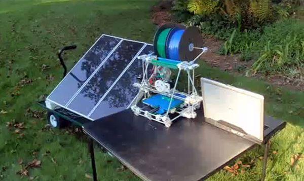 solar power 3D printers   5