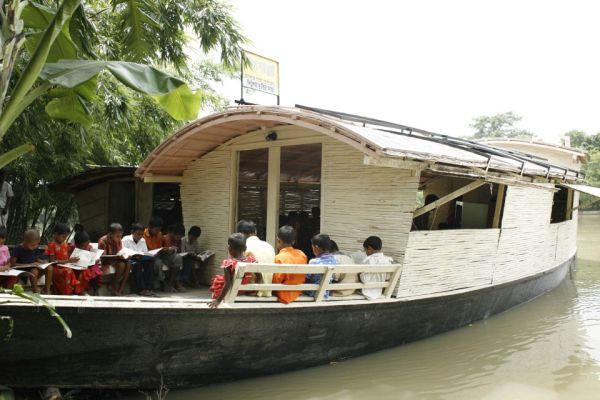Solar Powered School Boat